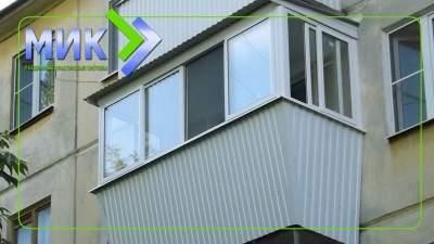 Теплое остекление балкона системой slidors заказать в Челно-.